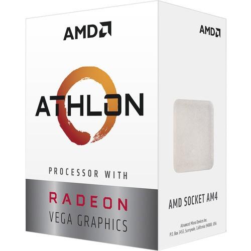 AMD Athlon 3000G 3.5 GHz AM4 4 MB Cache 35 W İşlemci Yüksek Çalışma Hızı