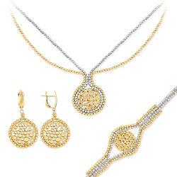 Gümüş ve Altın Takı Setleri