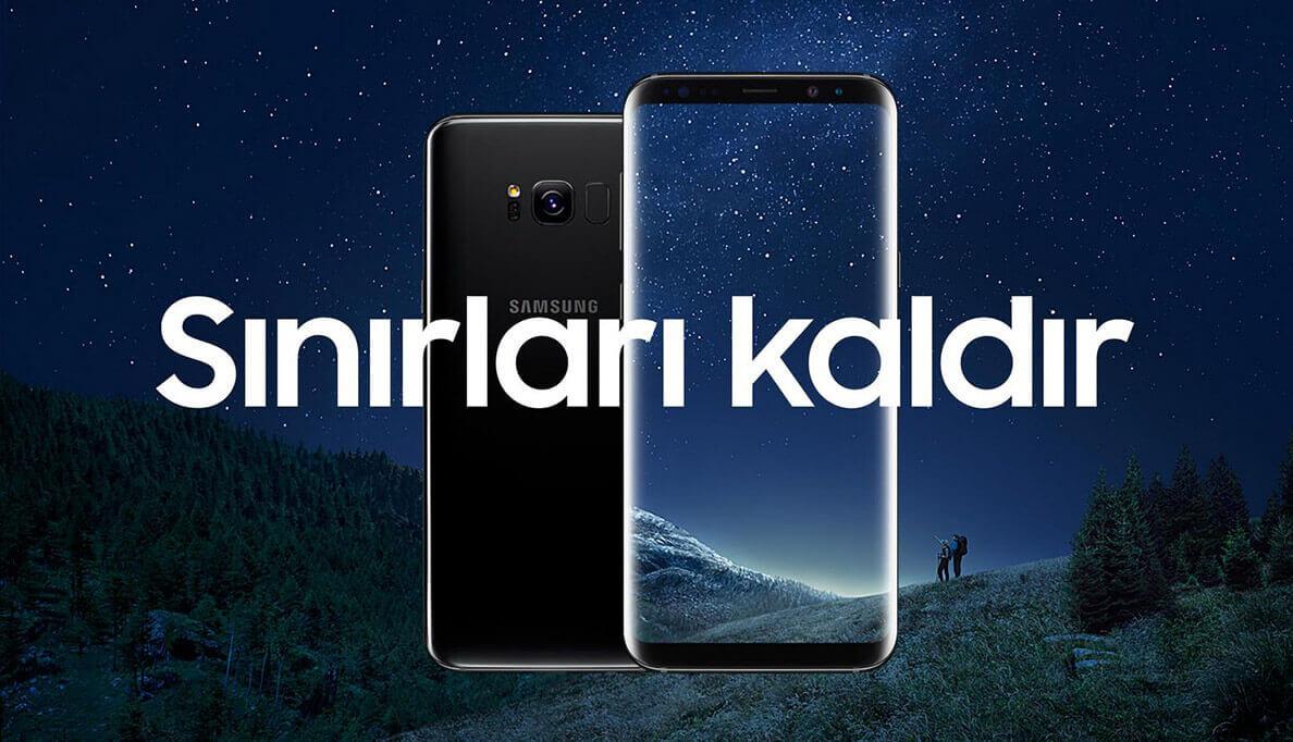 Samsung S8 Sınırları Kaldır