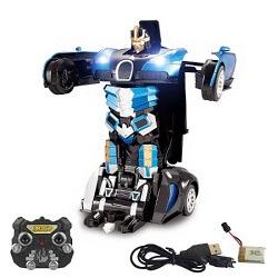 Arabaya Dönüşen Robot