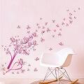 Çiçek Desenli Duvar Sticker Çeşitleri