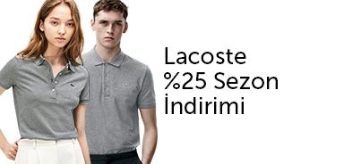 Lacoste Tüm Ürünlerde %30'a Varan İndirim - n11.com