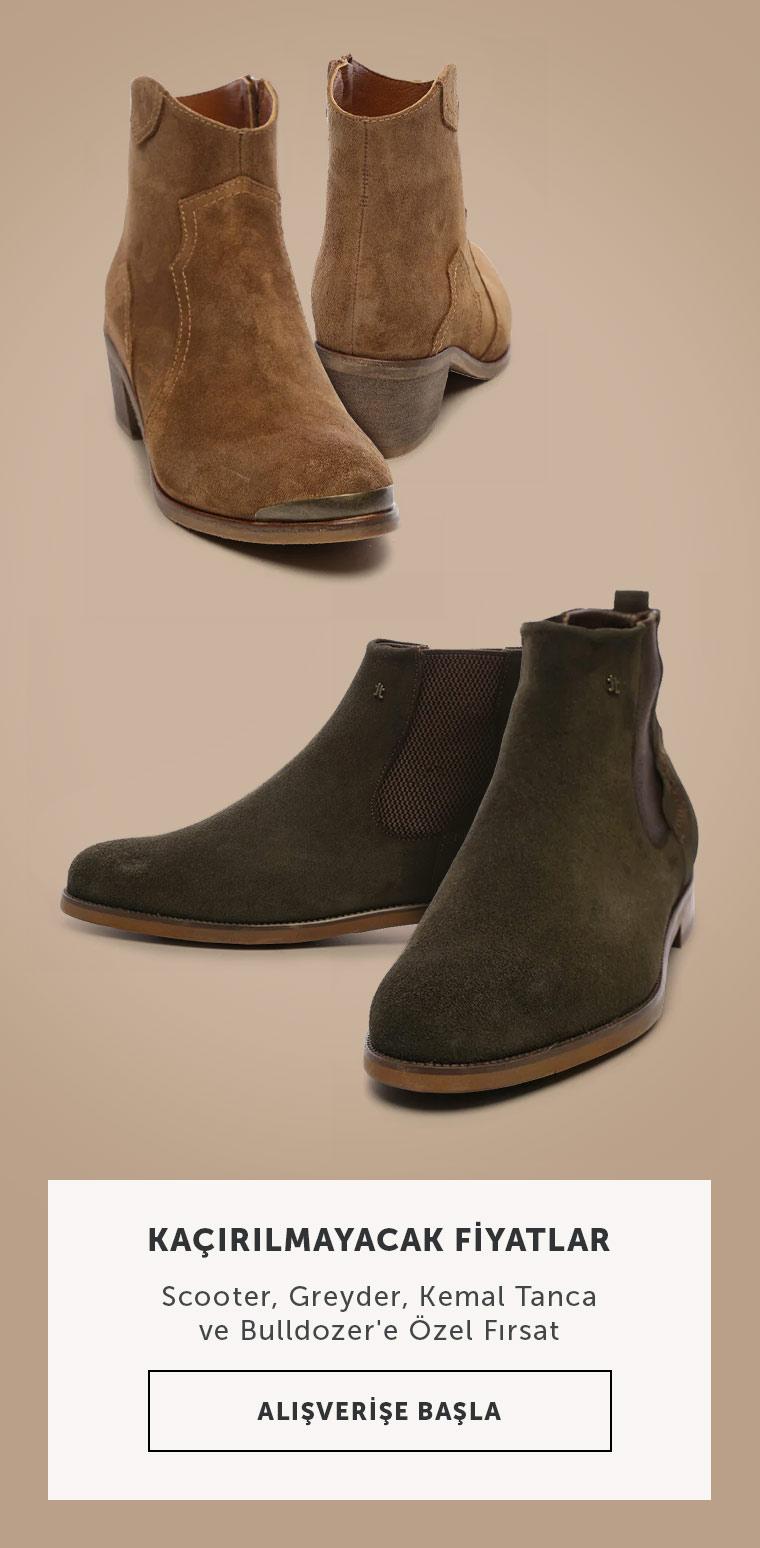 Yeni Sezon Kışlık Ayakkabılarda İndirim