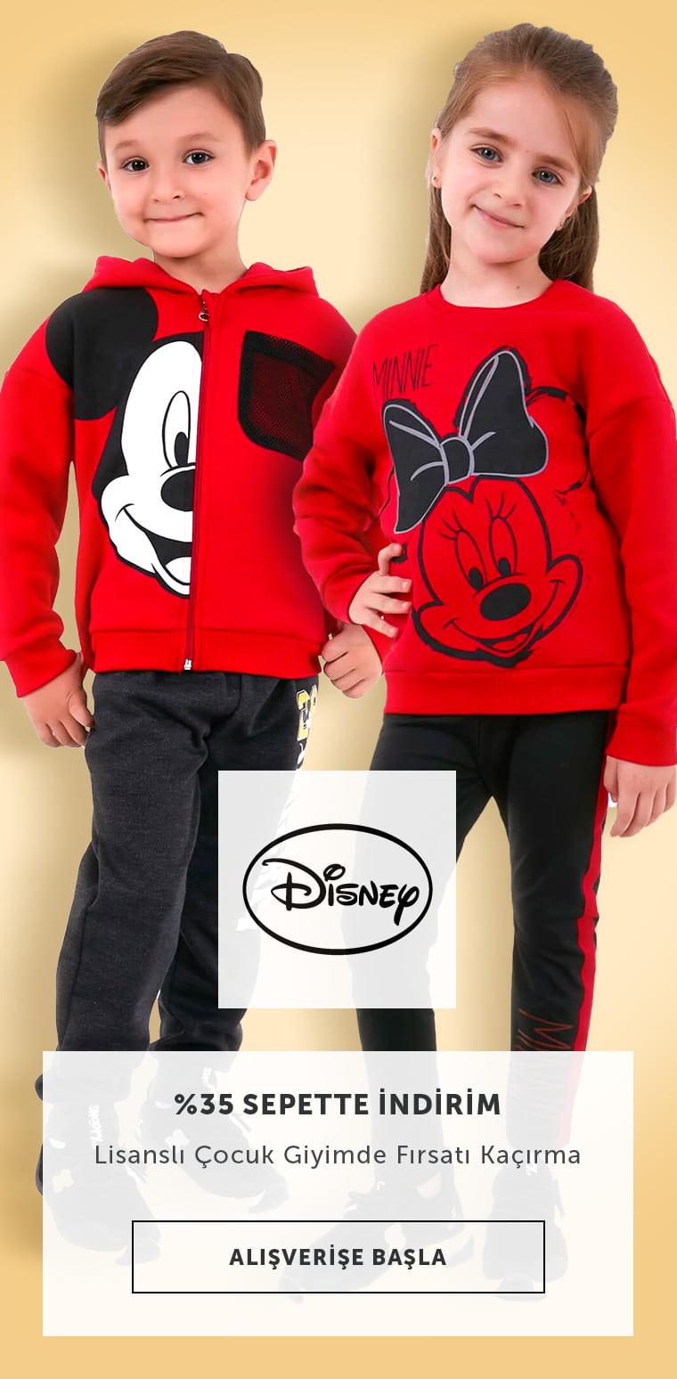 Disney Çocuk Ürünlerinde İndirimler