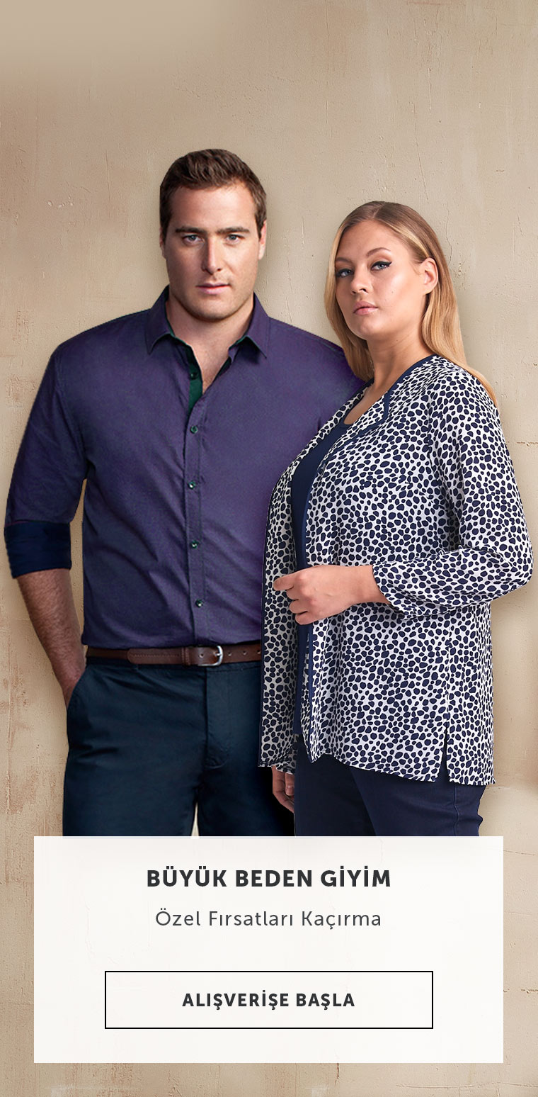 Erkek & Kadın Büyük Beden Pantolon & Tayt