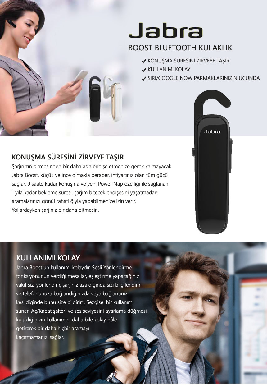 Harga Dan Spek Philippines Jabra Boost Wireless Bluetooth Headset Kablosuz Kulaklk N11com Black With