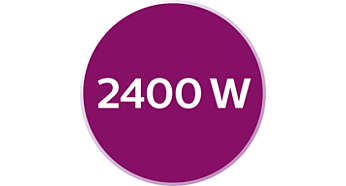 Hızlı ısınma için 2400 W
