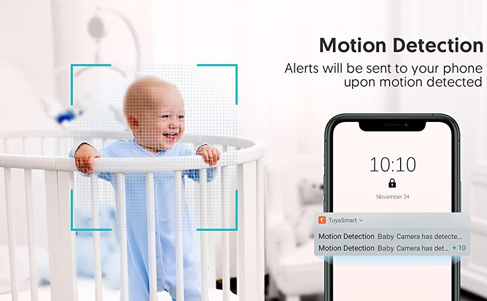 kameralı ve sesli bebek telsizi