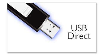 Kolay MP3 müzik dinlemek için USB Direct