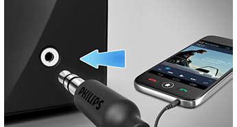 Taşınabilir müzik cihazınız için ses girişi