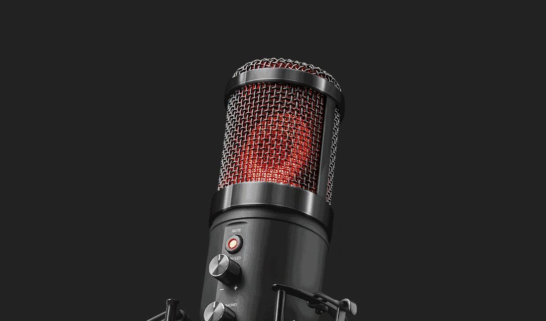Trust GXT 256 Exxo USB Streaming Mikrofon