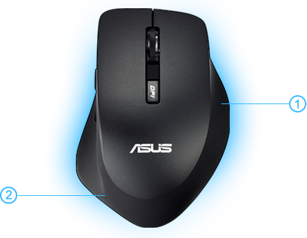 Asus WT425 Mouse