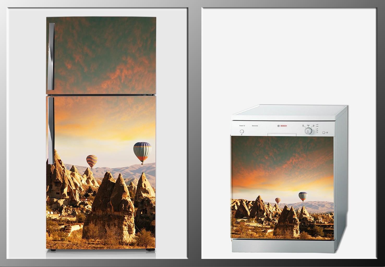 ArtWall Beyaz Eşya Kapadokya Sticker