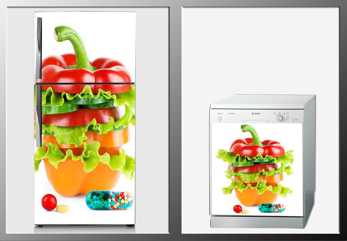 ArtWall Beyaz Eşya Yiyecek İçecek Sticker