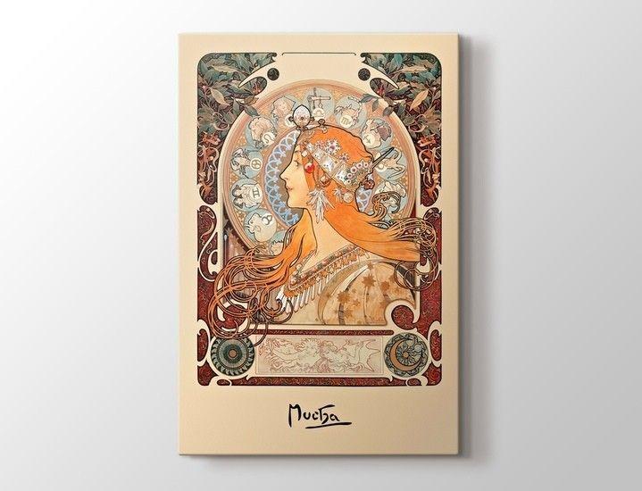 Alphonse Marie Mucha - Zodiac Tablo