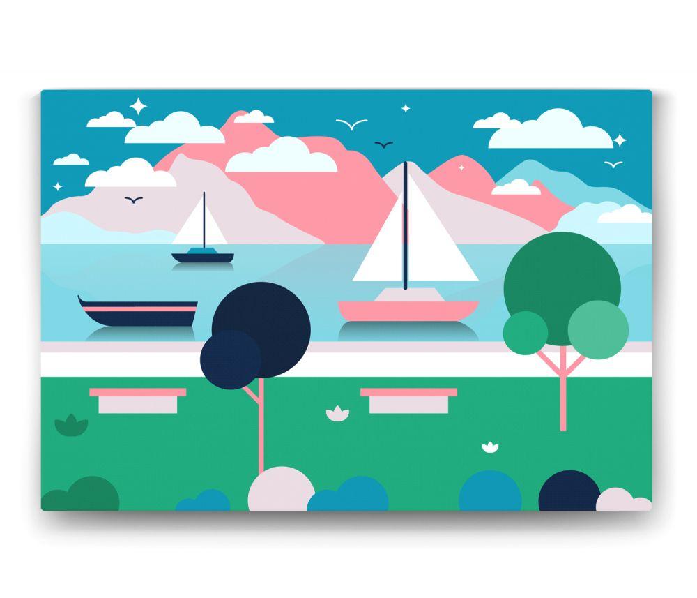 Deniz Manzarası Tablo