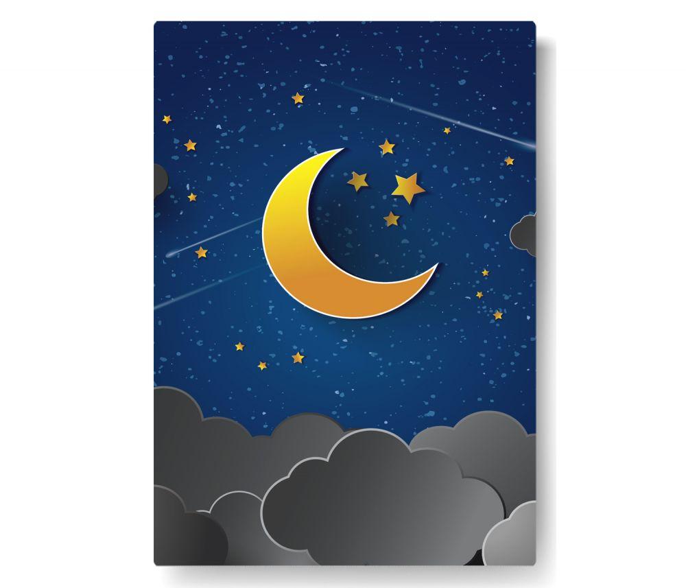 Gece Kanvas Tablo