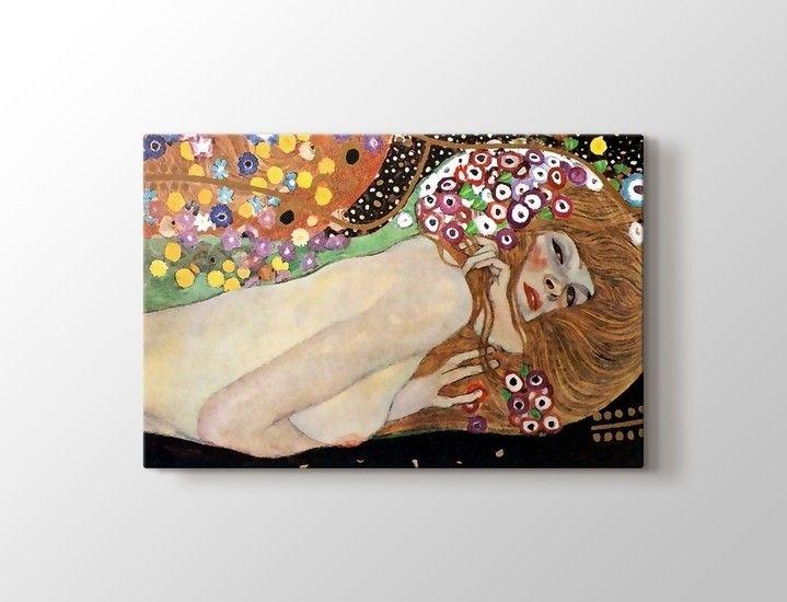 Gustav Klimt - Water Serpents Tablo