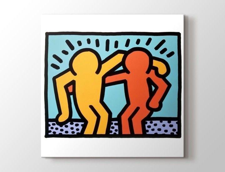 Keith Haring - Friendship Tablo