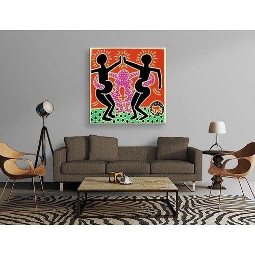 Keith Haring - Pregnant Tablo