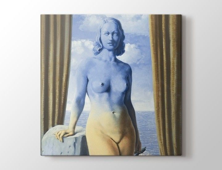 Rene Magritte - La Magie Noire Tablo