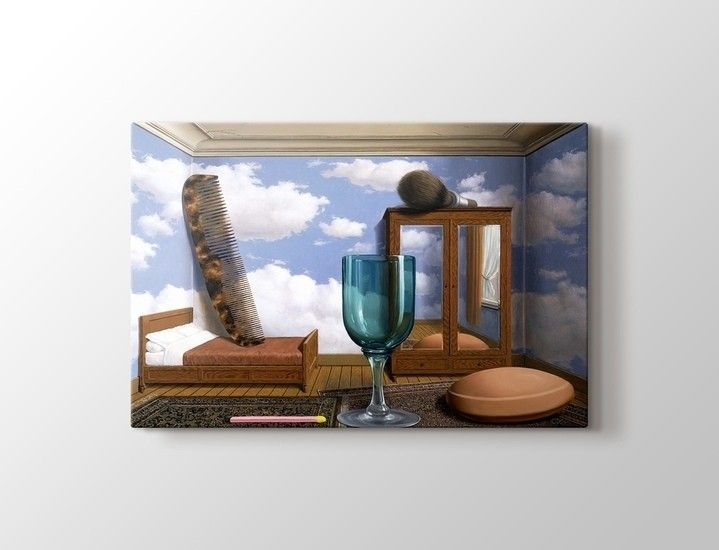 Rene Magritte - Personal Values Tablo