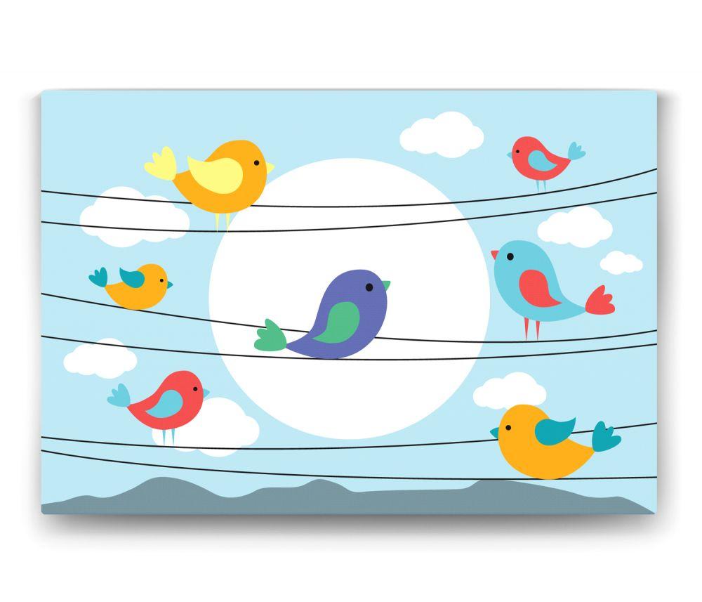 Teldeki Kuş Tablo