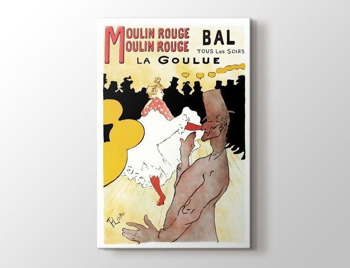 Toulouse Lautrec - Moulin Rouge Tablo