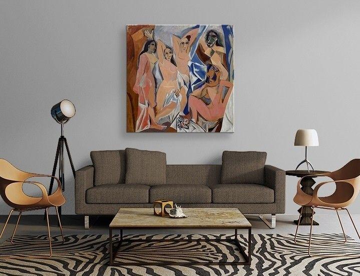 Pablo Picasso - Les Demoiselles D\'Avignon Poster
