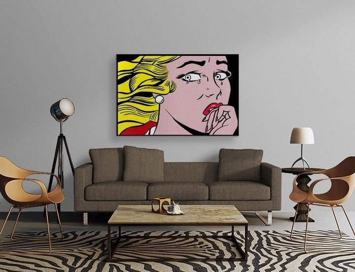 Roy Lichtenstein - Crying Girl Poster