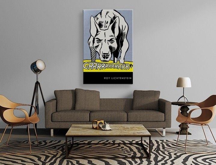 Roy Lichtenstein - Grrr  Poster
