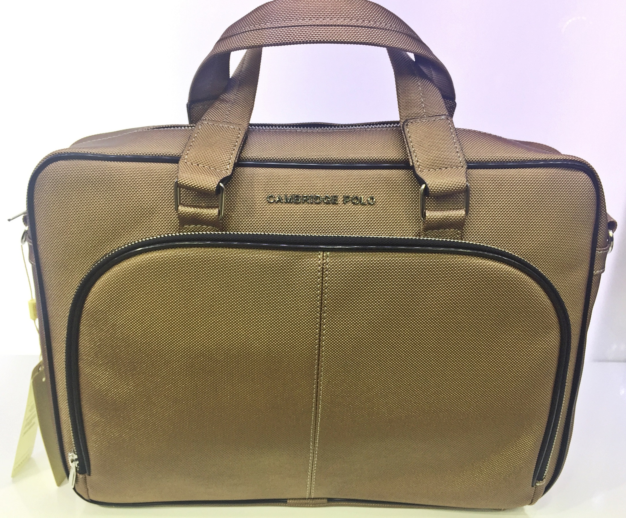 a57123523e318 Cambridge Polo Club Unisex Gold Evrak Ve Laptop Çantası - n11.com