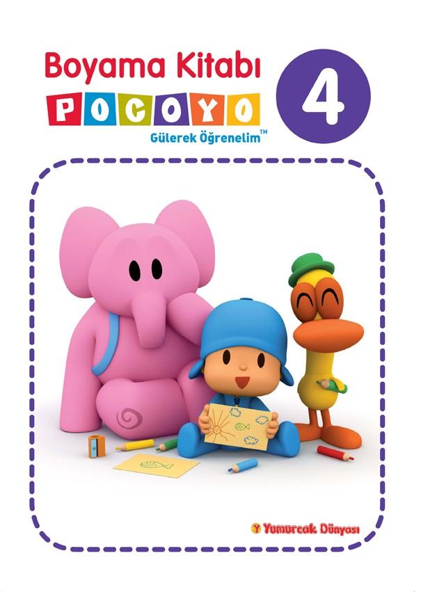 Pocoyo Boyama Kitabi 4 Egitici Ogretici N11 Com