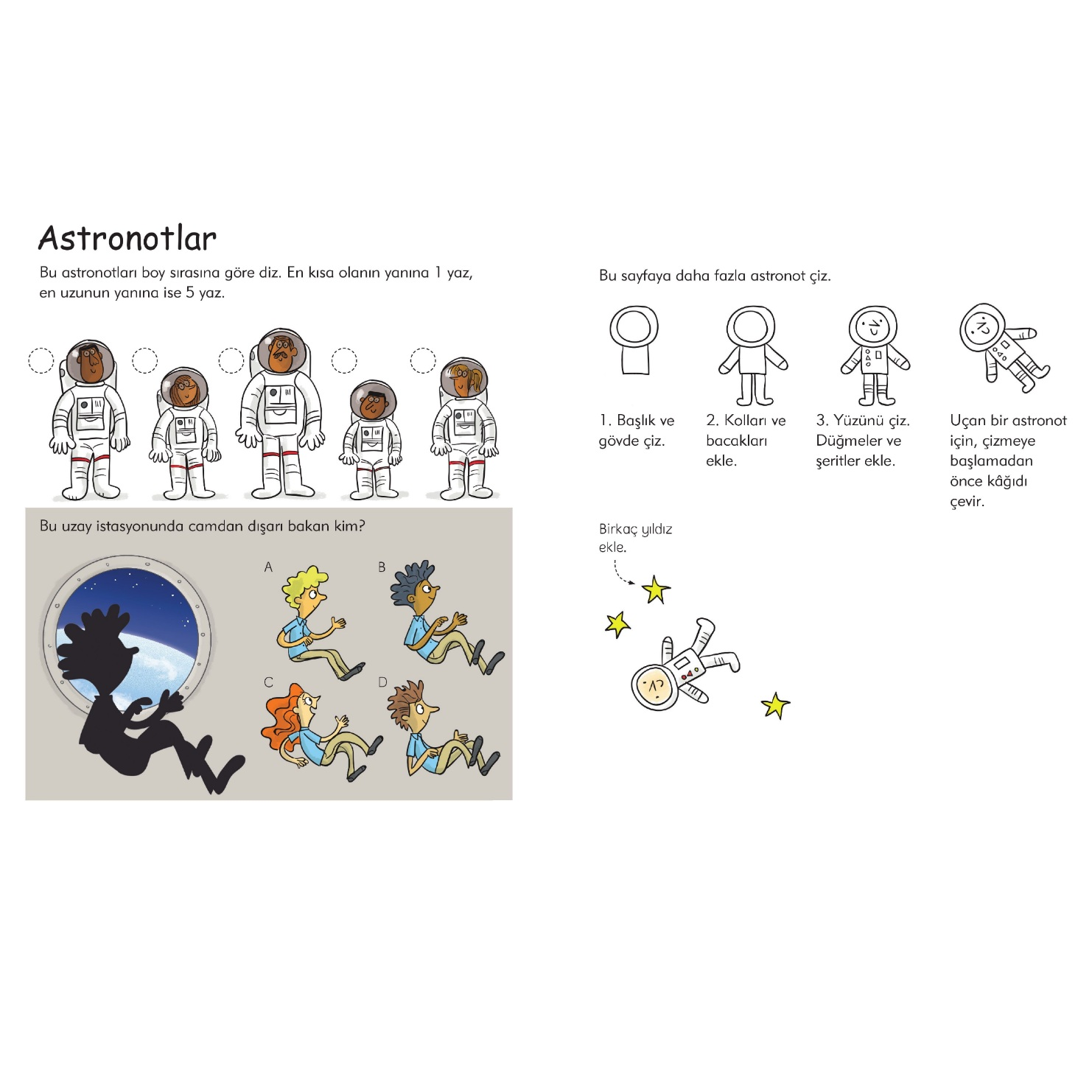 Kucuklere Uzay Etkinlik Kitabi N11 Com