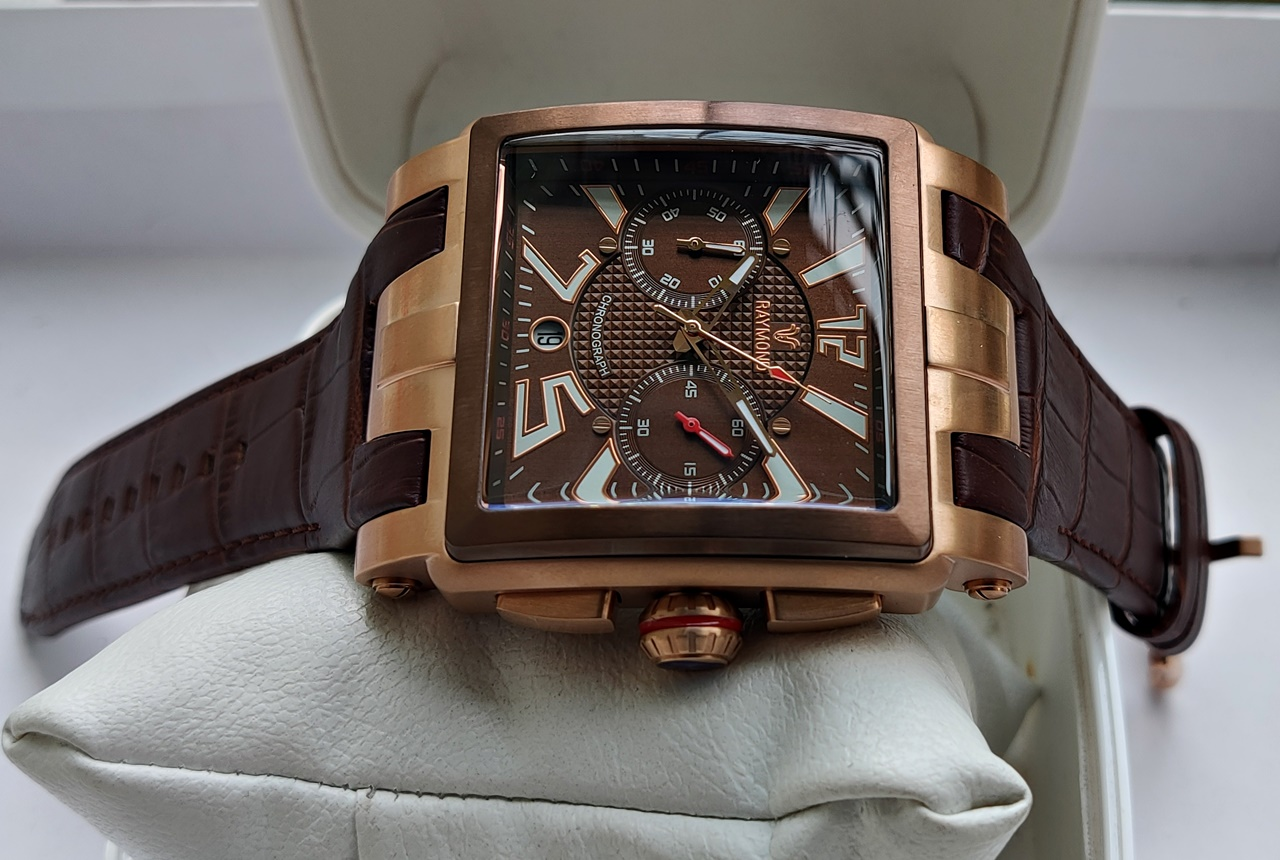 Raymond Swiss 53 Mm Buyuk Kasa Erkek Kol Saati Fiyatlari Ve Ozellikleri
