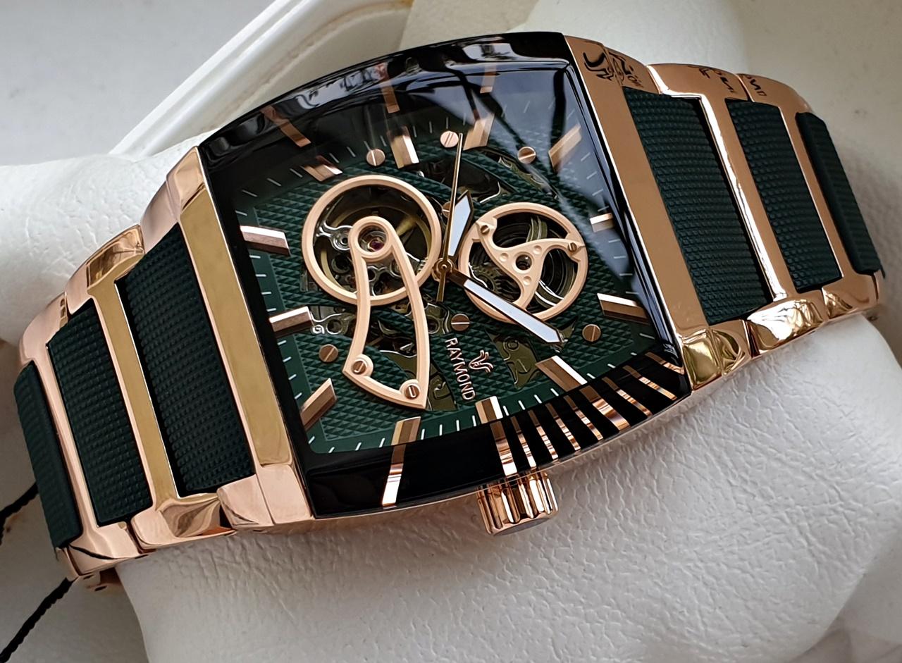 Raymond Swiss A5129 Haki Yesil Automatic Erkek Kol Saati Fiyatlari Ve Ozellikleri