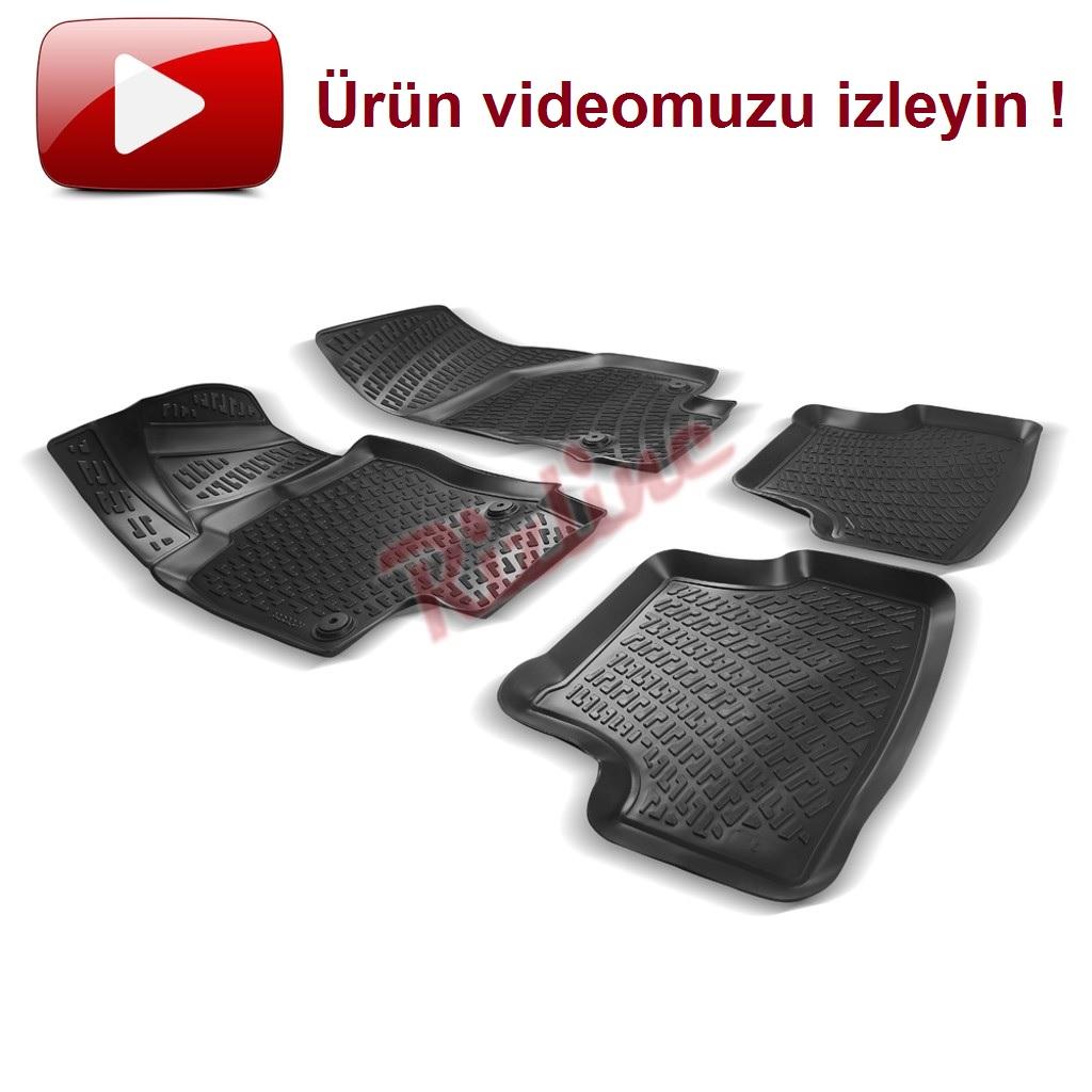 RİZLİNE Audi A3 2012 sonrası 3D Havuzlu Paspas