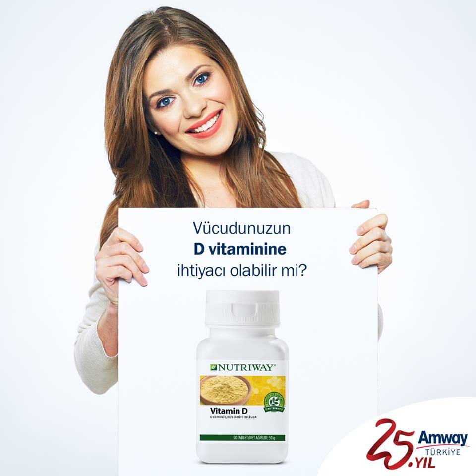 Amway Vitamin D Nutriway 90 Tablet Fiyatlari Ve Ozellikleri