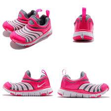 2af5c5d70991c Nike Dynamo Free Ps Grey Pink White Kid Preschool Slip On Shoes 3 ...