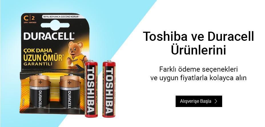 Duracell-Toshiba Pil Fırsatı