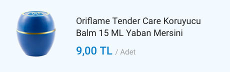 Oriflame Tender Balm